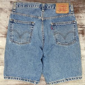 Vintage Levi's 505 100% Cotton High Waisted Shorts